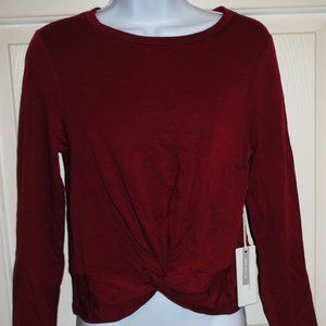 Liberty love Maroon Pullover Loose Fitting Shirt